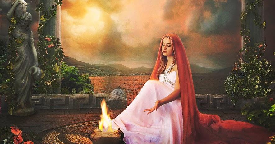 Hestia | Yunan Mitolojisinde Ocak Tanrıçası