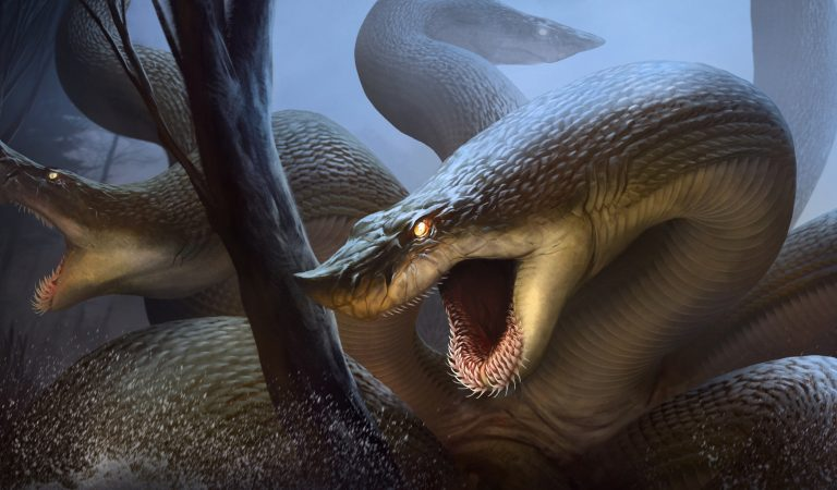 Hydra (Hidra): Çok Başlı Yılan