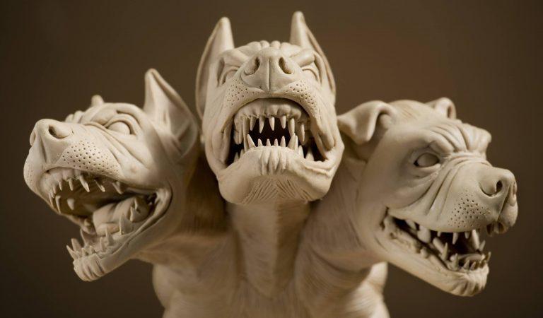 Kerberos Üç Başlı Köpek | Hades'in Cehennem Köpeği